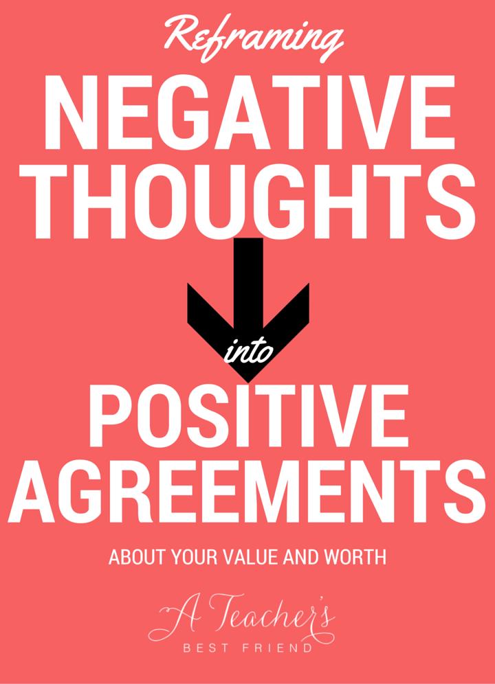 Reframing Negative Thoughts as a Teacher - A Teacher's Best Friend