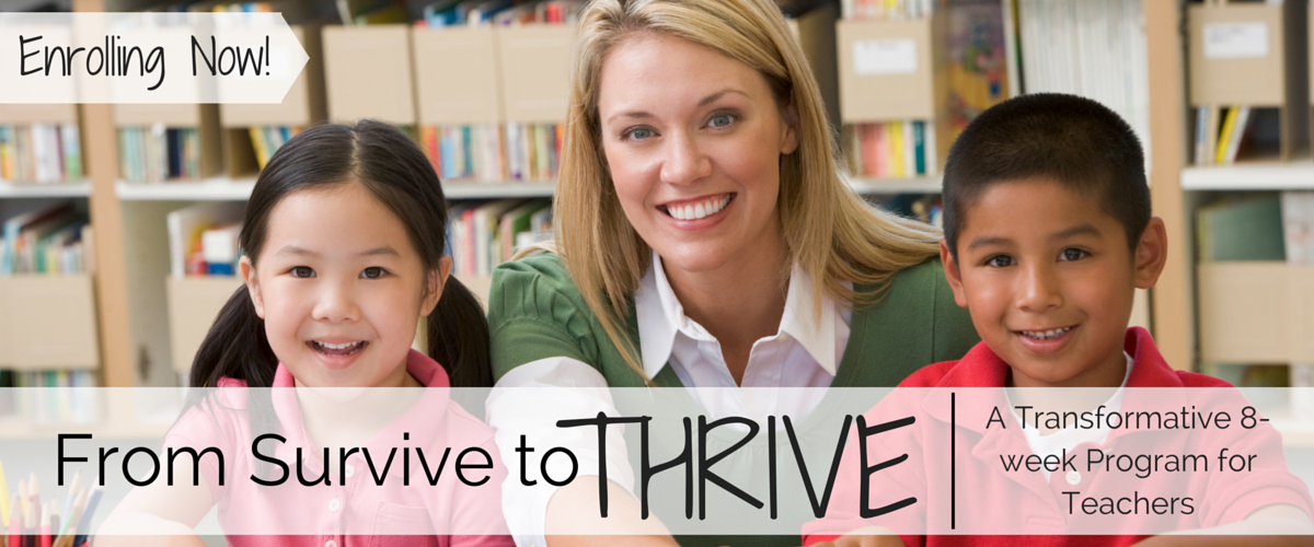 From Survive To Thrive Program