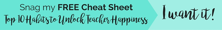 Freebie Bar Blog 10 Habits | Taming Your Teacher Gremlin | Life Coaching for Teachers