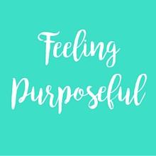 Stumbling Block Feeling Purposeful